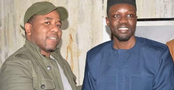 Visite : Bougane Guèye Dany chez Ousmane Sonko