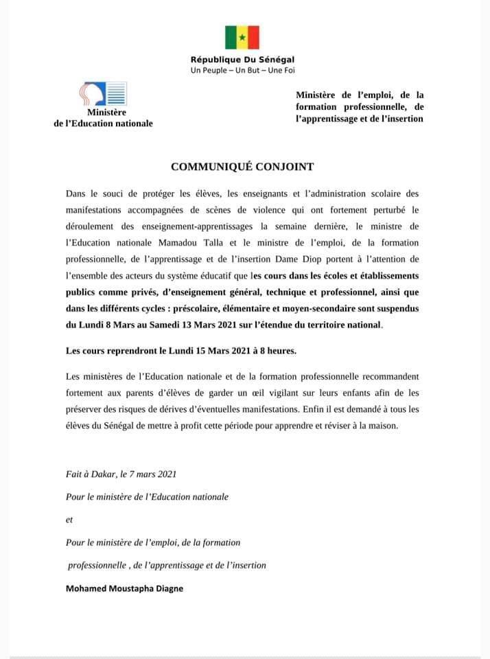 035196EE A478 4A51 BECF 359C91959907 - Senenews - Actualité Politique, Économie, Sport au Sénégal
