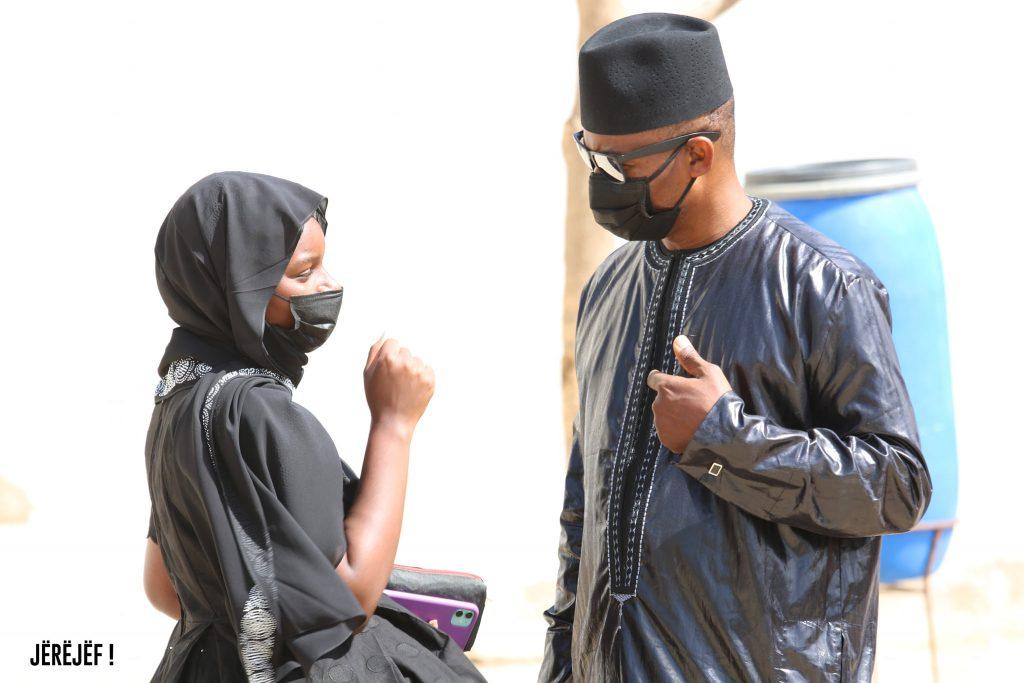 (Photos) Tristesse et consternation à l'enterrement de l'épouse de Me Moussa Diop